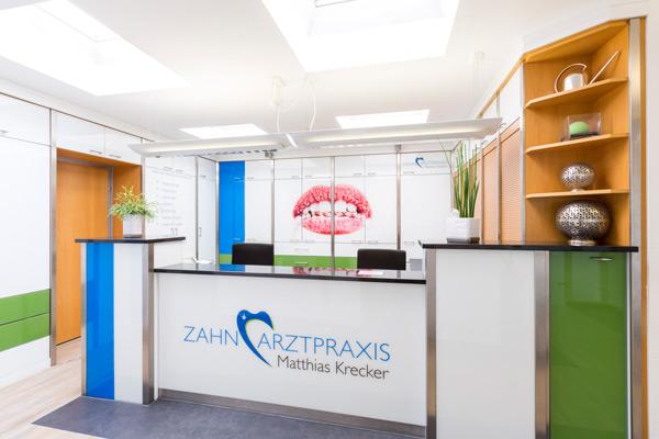 Zahnarztpraxis Krecker Empfang