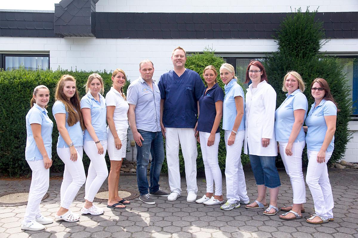 Praxis Team Zahnarzt Matthias Krecker